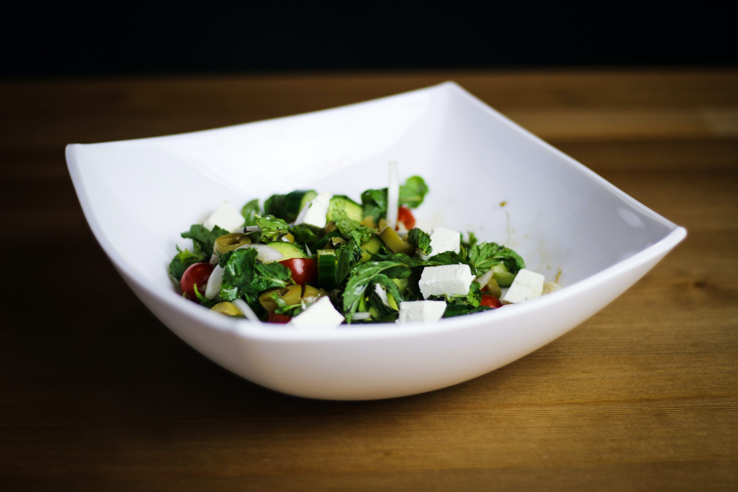Feta-Salat Campingrezepte