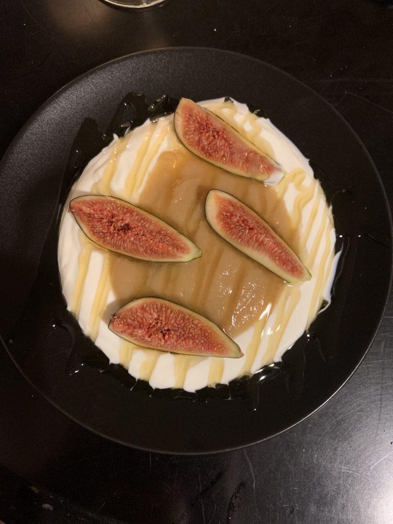 Feigen-Joghurt Dessert